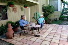 How to Make a Tile Patio • Ron Hazelton Online • DIY Ideas & Projects