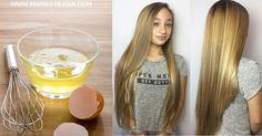 como fazer reconstrução caseira com clara de ovo