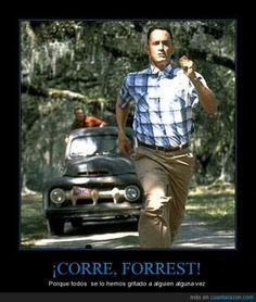 """Run Forrest, run!"" Tom Hanks in Forrest Gump Dominicans Be Like, Bruno Ferrari, Leaving Work On Friday, Ford Jokes, Ford Humor, Chevy Jokes, Forrest Gump 1994, Wwe Funny, Georgia Bulldogs Football"