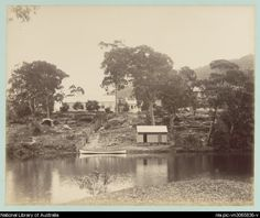 National Park Camp at Audley, above the dam  [New South Wales], 1888