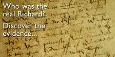 Richard III: Rumour and Reality - University of York