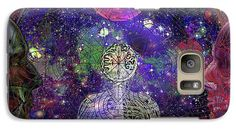http://mosletstudio.tumblr.com/Solarlife Galaxy S7 Case featuring the digital art A W A K E N I N G S O L A R L I F E by Joseph Mosley