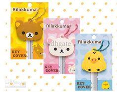 Wholesale Free Shipping 100PCS Kawaii Rillakuma Rubber Cover Key Cap Key Chain Key Cover, lovely Key Chain Set, Free shipping, $1.02/Piece | DHgate Mobile