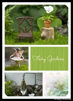 Suncatchers in the Fairy Garden - The Magic Onions