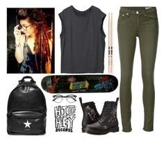"""""""Ava// RTD"""" by blueelephant115 ❤ liked on Polyvore featuring Dr. Martens, H&M, rag & bone/JEAN, Firth and Givenchy"""