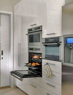 We may be limited by space, but it would be great for the back to bring the oven up off of the floor.