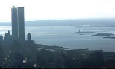 World Trade Center from Empire State Building, Thanksgiving Day, 1972