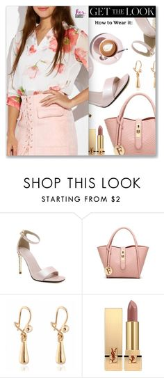 Get the Look by dressedbyrose on Polyvore featuring Yves Saint Laurent and Martha Stewart