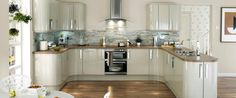 Glendevon Flint Grey Kitchen Range - really, really like this kitchen - do you? potentially my favourite I think! It doesn't give prices on any of the kitchens, so I have no idea if I am picking the expensive ones.