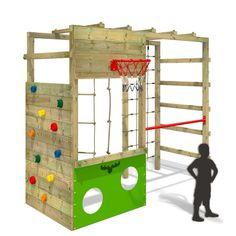 FATMOOSE CleverClimber Club XXL Climbing Frame Outdoor Wood Garden Gymnastics in Toys & Games, Outdoor Toys & Activities,…