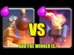 Bomb Tower vs Inferno Tower - Clash Royale