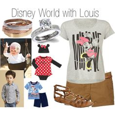 Disney World with Louis - Polyvore