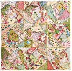 Foolproof Crazy Quilting   Flickr - Photo Sharing!