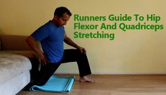 Runners Guide To Hip Flexor And Quadriceps Stretching - This is an advanced stretch technique for stretching hip flexors, front hip joint and quadriceps muscle. #quadriceps #stretching #kneeinjury http://www.tridoshawellness.com/runners-guide-to-hip-flexor-and-quadriceps-stretching/