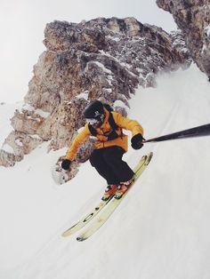 Go Pro skier