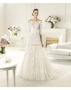 Lace Elegant & Luxurious Spring Wedding Dresses 2014