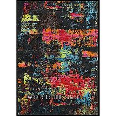 Move Artist 4440 70 Rectangle Rugs Funky Rugs