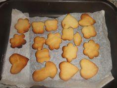 Μπισκότα 3-2-1 με μέλι (χωρίς ζάχαρη) New Recipes, Food To Make, Biscuits, Dairy, Pudding, Cheese, Vegan, Cookies, Breakfast