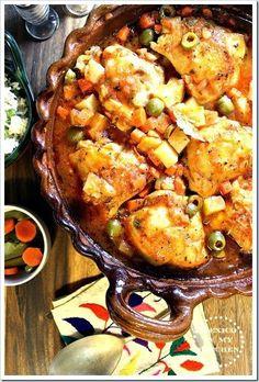 Mexico in my Kitchen: Chicken Veracruz Style - Pollo A la Veracruzana
