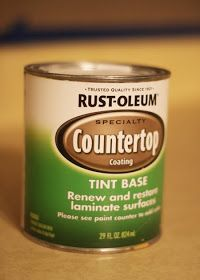 My Pretties: How to paint countertops