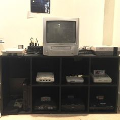 Something we loved from Instagram! The new #retrogaming #CRT setup :) 9 consoles 3 switchers and 1 EmulationStation Pi! #retrotech #retrogame #CRTtv #sonyps2 #dreamcast #sega #nintendo64 #n64 #psone #ps1 #segasaturn #playstation2 #playstation #snes #supernintendo #superfamicon #megadrive #segagenesis #nes #atari #atarixegs #xegs #raspberrypi #emulationstation #battlestation by tjmortimer1989 Check us out http://bit.ly/1KyLetq