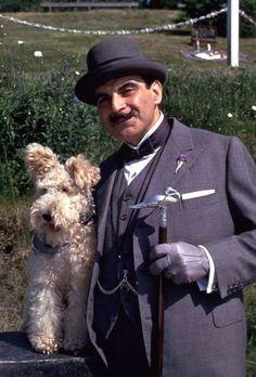 Agatha Christie's sleuth, Hercule Poirot & The Silent Witness j adore cet acteur ...Andrée...