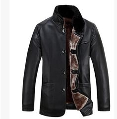 Leather Jacket Men Sheepskin Fur Casual 40 Degree Warm Plus Size Click Here For More Australian Sheep Skin|There Are Many Colours And Sizes For Australian Sheep Skins|See More Uses For Australian Lambskins|Click Here For More Australian Lambskins|