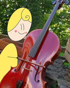"""@morgane.facilitation on Instagram: """"Hier j'ai pu tenir pour la première fois un violoncelle, Et vous qu'avez vous fait de nouveau ces derniers jours? #violoncelle #bikablo…"""" Violin, Music Instruments, Instagram, Musica, First Time, Cellos, Beginning Sounds, Baby Born, Musical Instruments"""