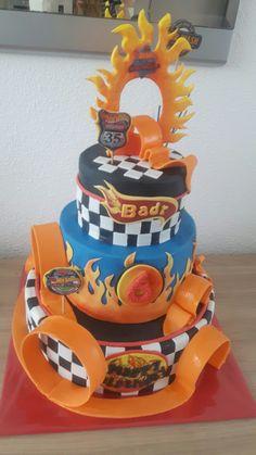 Hot Weels cake