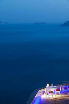 Romantic Evening in Santorini Greece..♕◆LadyLuxury◆♕
