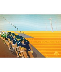 2013 Tour de France Stage 13 by Bruce Doscher