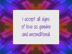 Daily Affirmation for July 18, 2012