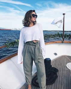 """8,385 Likes, 139 Comments - Allana Davison (@allanaramaa) on Instagram: """"On a boat with @smashboxcanada & having the beautiful @xandervintage learn meh """""""