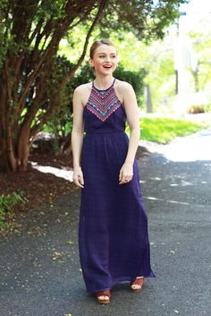 Poor Little It Girl - American Eagle Outfitters Springtime Dresses - via @poorlilitgirl