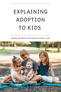 Explaining Adoption to Kids – The Journey of Parenthood… Explaining adoption to kids. Both biological children as well as adoptive children. Talking about adoption can be overwhelming but it doesn't have to be! Open Adoption, Foster Care Adoption, Foster To Adopt, Adoption Books, Foster Kids, Adoption Quotes, Foster Family, Babies R Us, Foster Parenting
