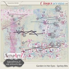 Garden in her Eyes Spritzy Bits by Seatrout Scraps and ScrapArtZ