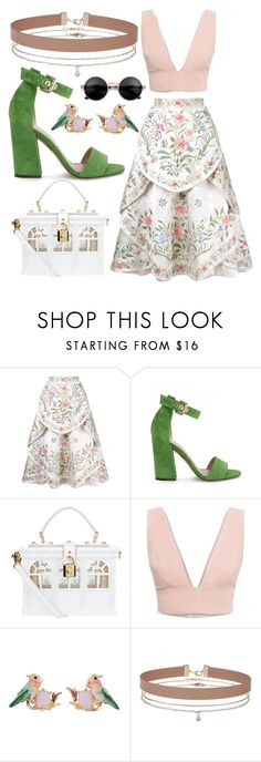 """""""Untitled #1150"""" by clothyoulike ❤ liked on Polyvore featuring Eavis & Brown, Pura López, Dolce&Gabbana, Animale, Les Néréides and Miss Selfridge"""