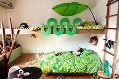 Doing It Right: Pantone's Emerald in Children's Rooms