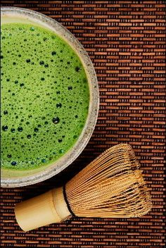 """One glass of matcha is the equivalent of 10 glasses of green tea in terms of nutritional value and antioxidant content."" i've been looking at getting matcha but i wasn't sure if i wanted to spend money on the little whisk. might be worth it though!"