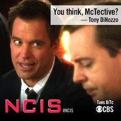 Tony DiNozzo - You think, McTective?