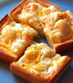朝からうんまっ♡キッシュトーストが簡単なのに美味しすぎる! - LOCARI(ロカリ)