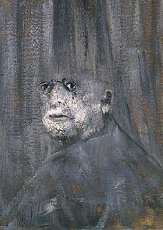 Francis Bacon, Head III, 1949
