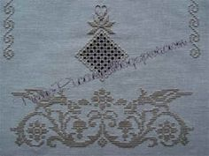 TuttoRicamo: Point Perugino Cross Stitch Bird, Cross Stitch Patterns, Drawn Thread, Cut Work, Bargello, Embroidery Stitches, Needlework, Diy And Crafts, Album