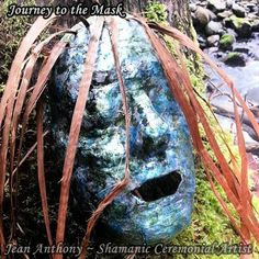 Journey to the Mask is a guided shamanic art exploration into identity, and personal power. Step forward into thevision of who you are in your fully expressed personal and creative power. jeananthony.net