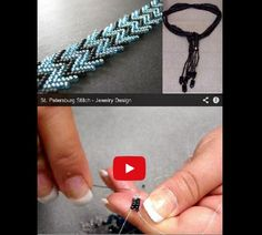 How to weave St. Petersburg Stitch
