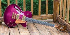 Mark Lacey Custom Guitars   Semi Solids