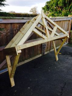 1500mm wooden canopy porch