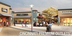 Cincinnati Premium Outlets #PremiumOutlets #CincinnatiPremiumOutlets