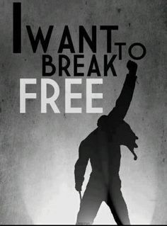 Queen – I Want To Break Free – Written by John Deacon. Freddie Mercury Zitate, Freddie Mercury Quotes, Queen Freddie Mercury, John Deacon, Pop Rock, Song Quotes, New Quotes, Rock Music Quotes, Life Quotes