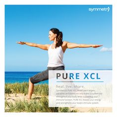 """Symmetry's PURE XCL health pack targets parasites and toxins in your digestive system and throughout your body. It also supports your immune system and boosts your energy levels. Cost- $89.55 retail or $59.00 pref custmr http://www.symmetrydirect.com/chevonee Click """"products"""" on the 1st page- click """"PRODUCTS"""" on the 2nd page-scroll down until you get to Advanced Omega"""